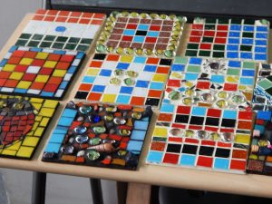 Cluster of Mosaic Coasters