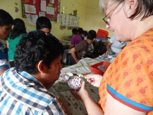 Ashish Foundation Mosaic Workshop