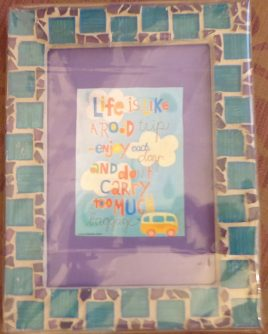 Sea Green Picture Frame