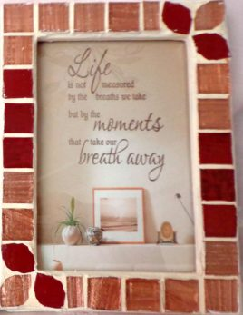 Shades of Red - Photo Frame