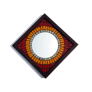 Big Brother Mosaic Mirror 12x12