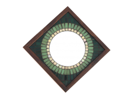 Big Brother Mosaic Mirror Green 12x12