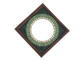 Big Brother Mosaic Mirror Green 12x12