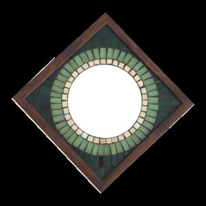 Big Brother Mosaic Mirror Green 9x9