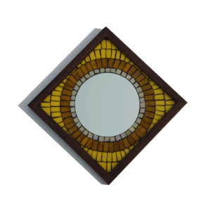 Big Brother Mosaic Mirror Yellow 9x9