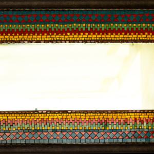Mirror of Kutch - Mosaic Wall Mural