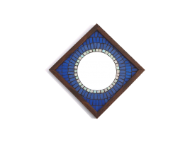 Big Brother Mosaic Mirror Blue 12x12