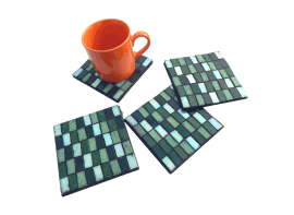 Chatai Coasters with Cup