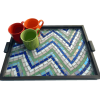 Dizzy Lizzy Mosaic Tray 11x15