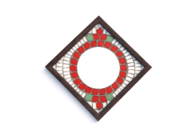 X-Mas Xing Mosaic Mirror 9x9