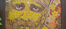 Sai Kripa - Sai Baba's Blessings. Sai Baba Mosaic