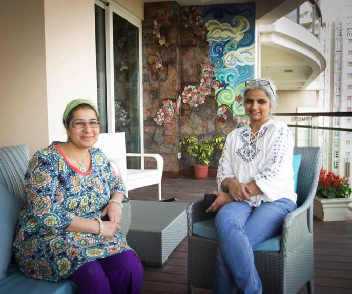 Caroline Jariwala and Kanika Singh